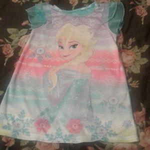 Girls frozen pajamas
